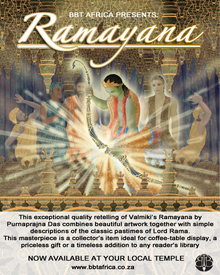 A new Release from the BBT – Ramayana